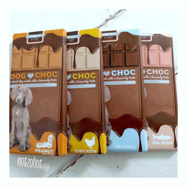 Dog Choc   Honden chocolade   Natuurlijke honden snacks