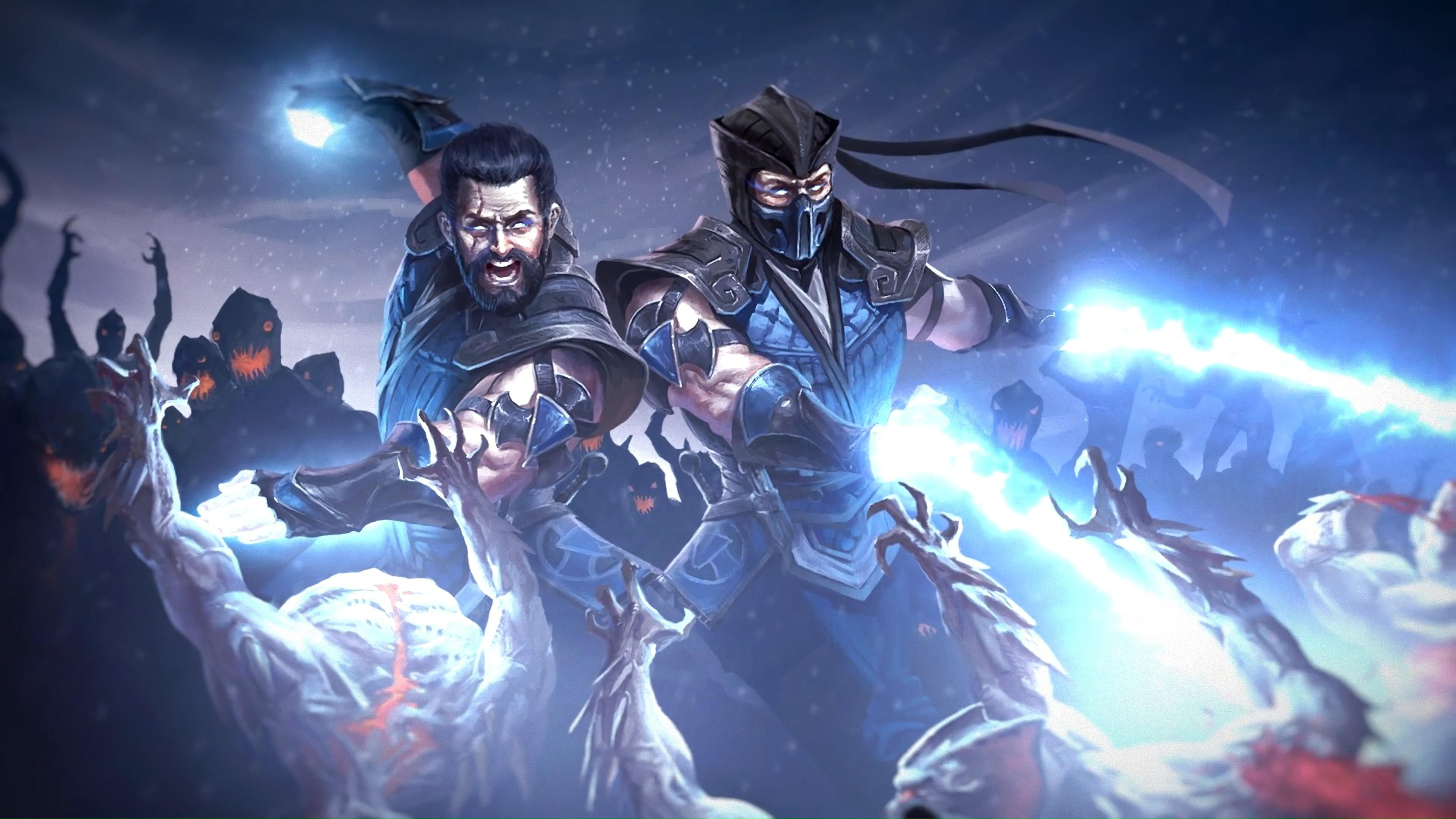 Sub Zero Mortal Kombat 11 4k Wallpaper 196
