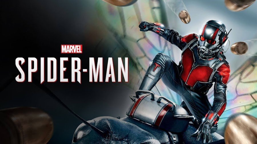 marvel's spider man ps4 easter egg ant man hank pym superhero video game insomniac games sony interactive entertainment