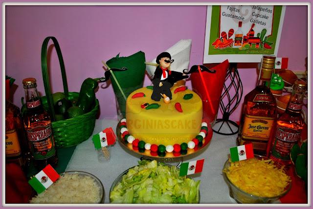 Tartas y Galletas decoradas con fondant Infantiles