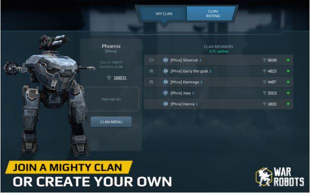 download war robot vip premium apk free