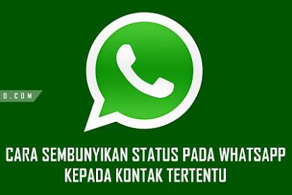 Cara Sembunyikan Status di WhatsApp Kepada Kontak Tertentu