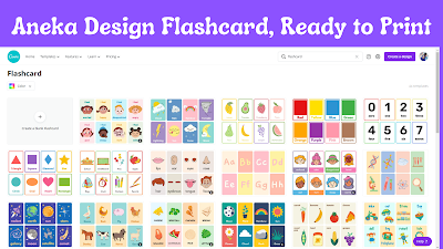 design flashcard