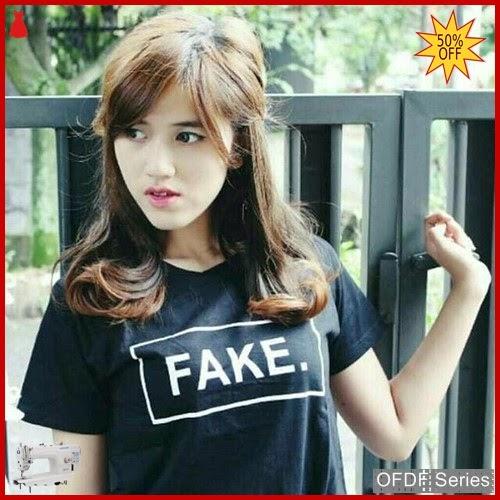 OFDF180 Atasan Kaos Tshirt Fake Tumbler Tee BMGShop
