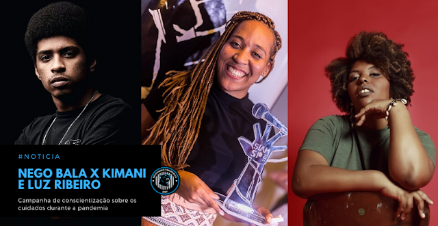 Campanha de conscientização sobre os cuidados durante a pandemia reúne nomes do rapper e poetas