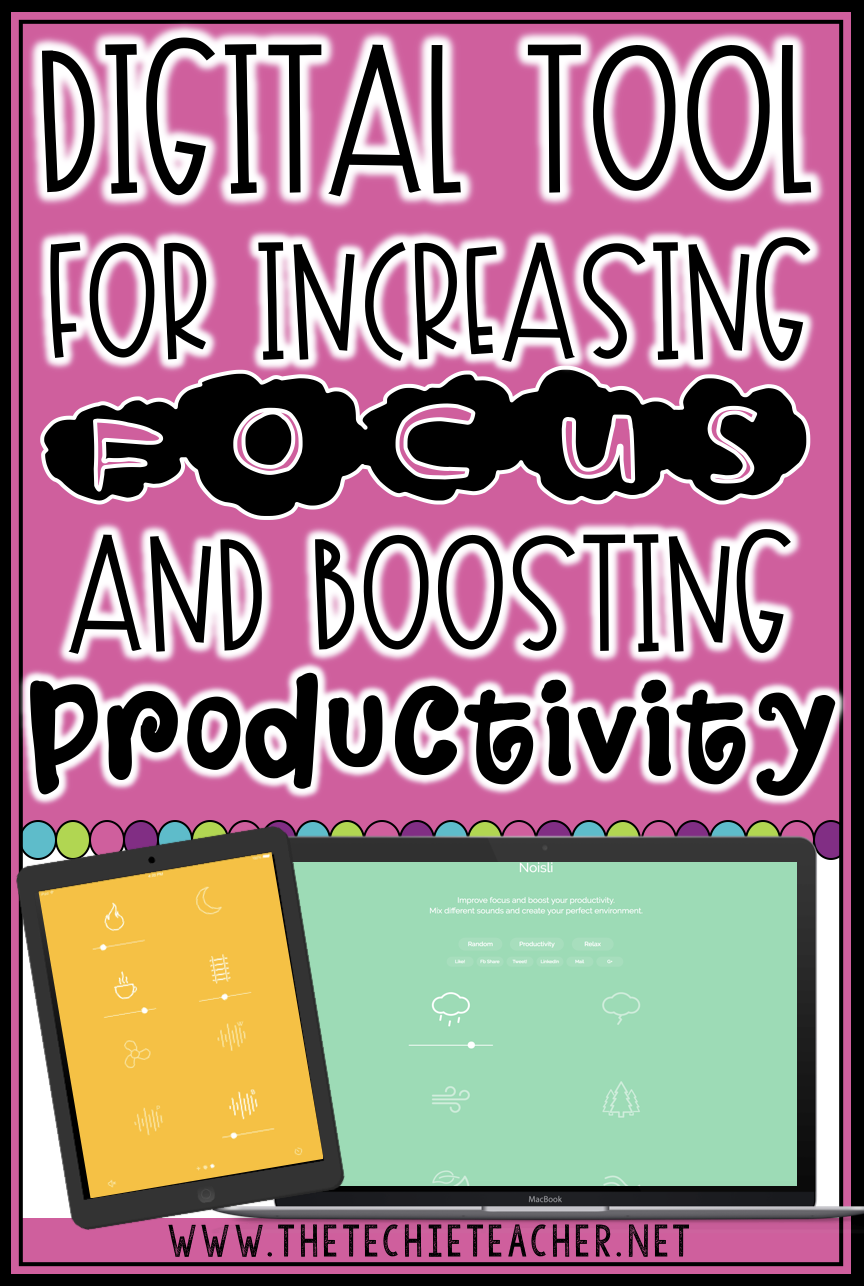 Digital Tool for Increasing Focus and Boosting Productivity: Works on Chromebooks, laptops, computers, iPads, Android devices and also comes as a Chrome extension. Educators are using this for independent working time and testing in the classroom.