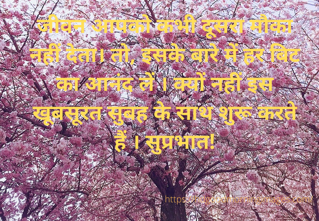 Top Good morning messages in Hindi
