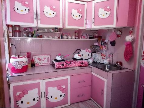 5 Dekorasi Dapur Model Hello Kitty Modern Desarumah Com