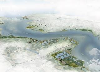 Illustratie cover Dubbele dijken als robuuste waterkerende landschappen voor een welvarende Zuidwestelijke Delta. NIOZ Report 2021-01