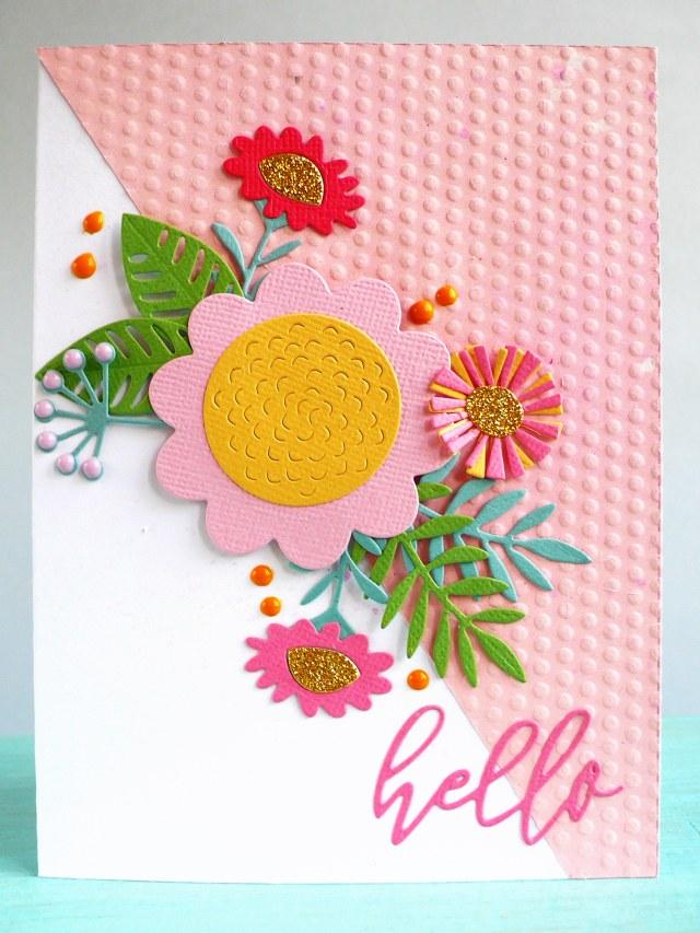 Card Floral Tropics