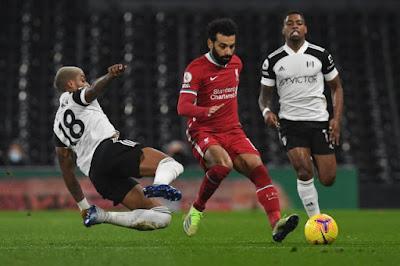 ملخص واهداف مباراة ليفربول وفولهام (1-1) الدوري الانجليزي