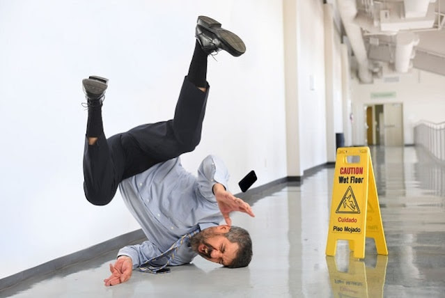 workplace accident injuries treatment work injury job slip and fall