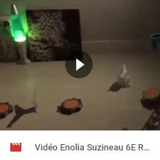 Vidéo Enolia Suzineau 6E