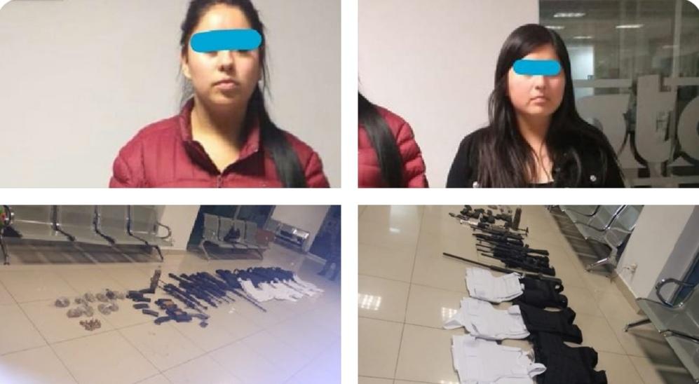 """Fuerzas Federales detienen en Apaseo el Alto; Guanajuato a Sobrina de """"El Marro"""""""