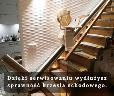 Dzięki serwisowaniu będziesz mógł dłużej cieszyć się swoją windą krzesełkową.