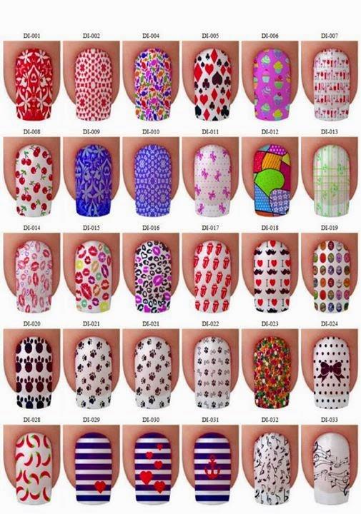Imagenes de uñas decoradas con lindos diseños modernos