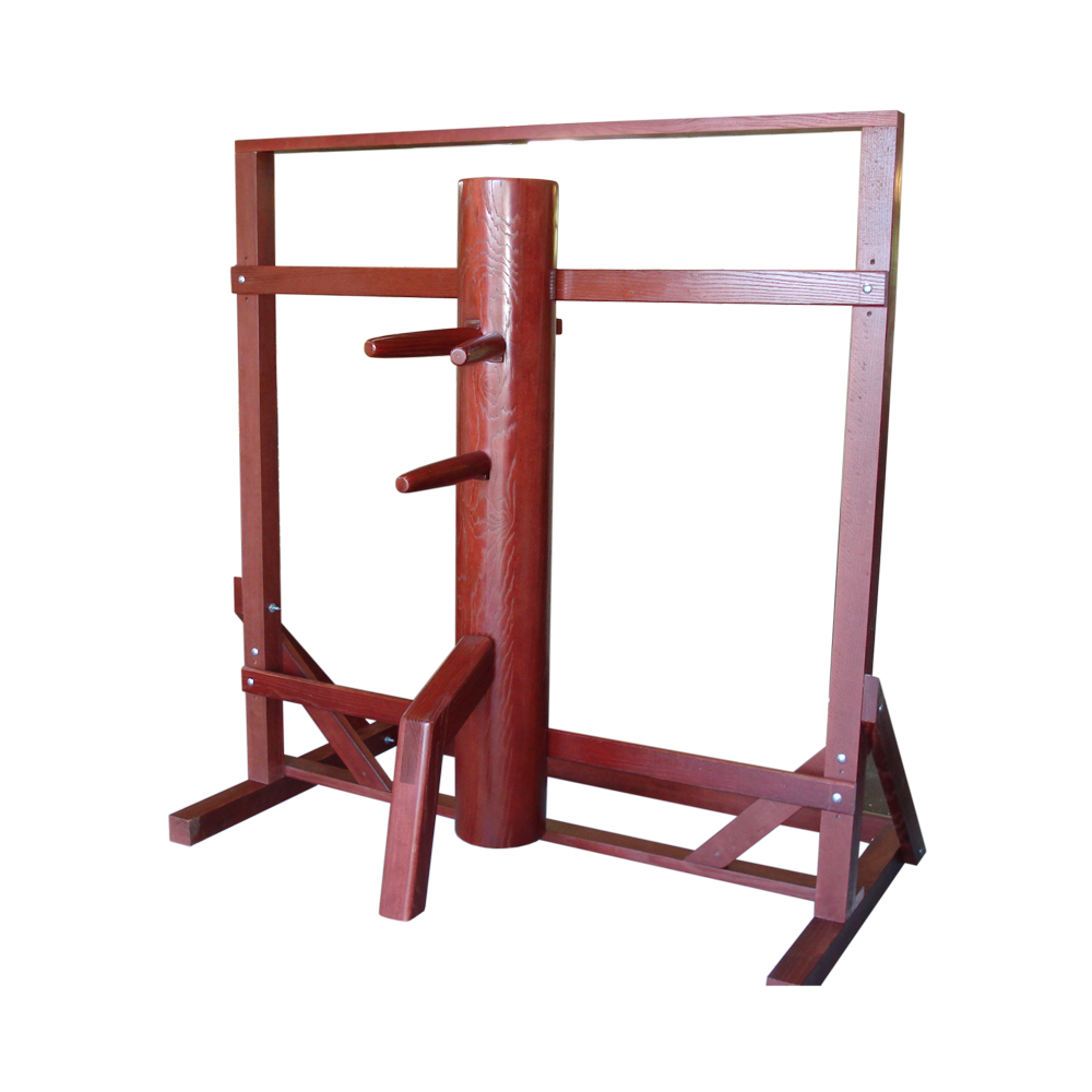 wing chun wooden dummy for beginners with free standing and frame