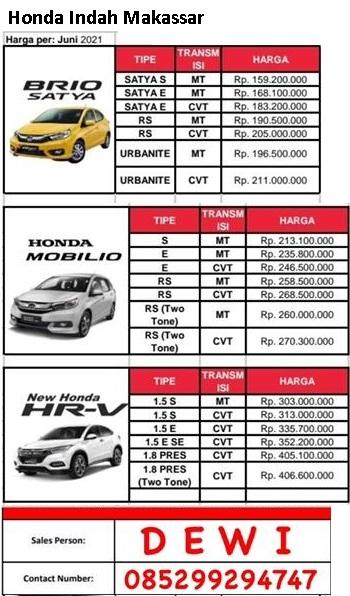 Bro 2014,kondisi original harga 117 jt nego tipis,hub:085298826823 · honda brio. Harga Honda Brio Makassar 2021 - Promo DP kredit ringan Brosur Mobil