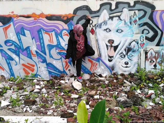 lokasi mural di kota medan