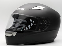 Cargloss SIRCON VR Helm Full Face - Black Doff