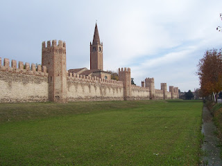 Montagnana's medieval city walls are still intact