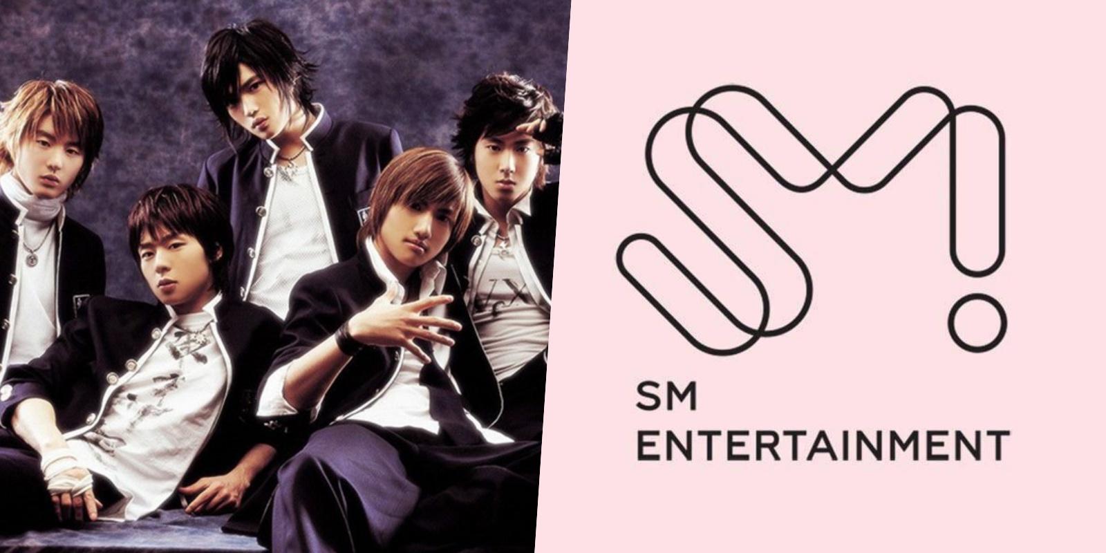 tvxq sm entertainment