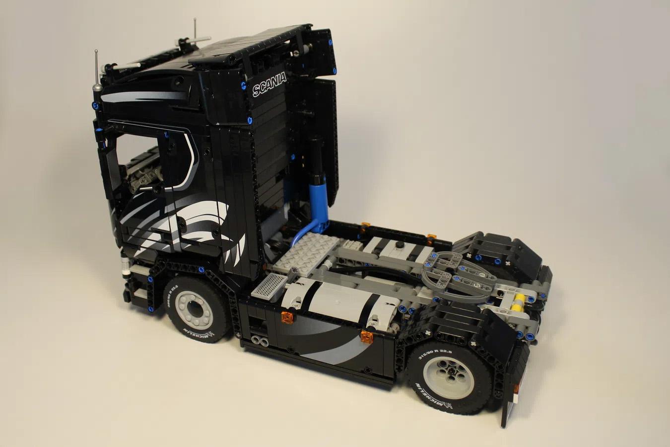 レゴアイデアで『スカニア S730』が製品化レビュー進出!2021年第1回1万サポート獲得デザイン紹介
