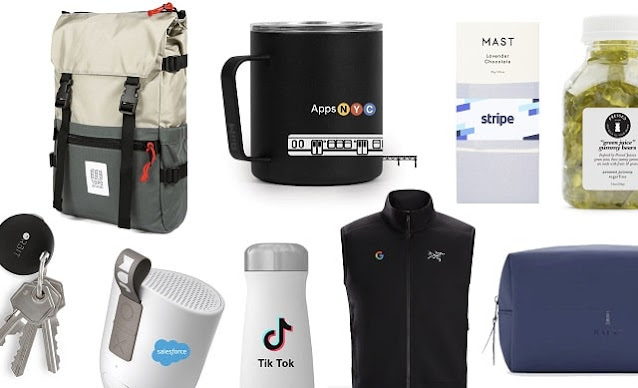 gift ideas for corporations reward employees appreciation merch