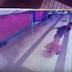Lelaki Gila Terajang Belakang Awek Di Laluan KTM Bank Negara