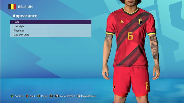 PES 2017 Sweden & Belgium Kits Euro 2020 By Clo'z Pes 2017