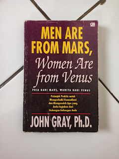 Men Are From Mars, Women Are From Venus