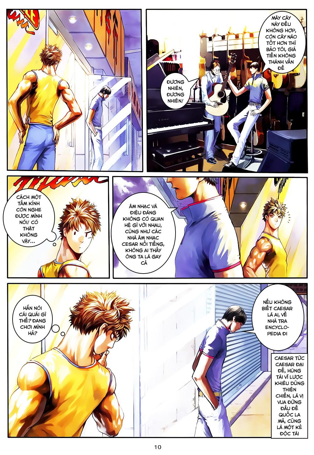Quyền Đạo chapter 4 trang 10