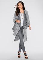 Jachetă tricotată cu mâneci 3/4 bonprix (bonprix)