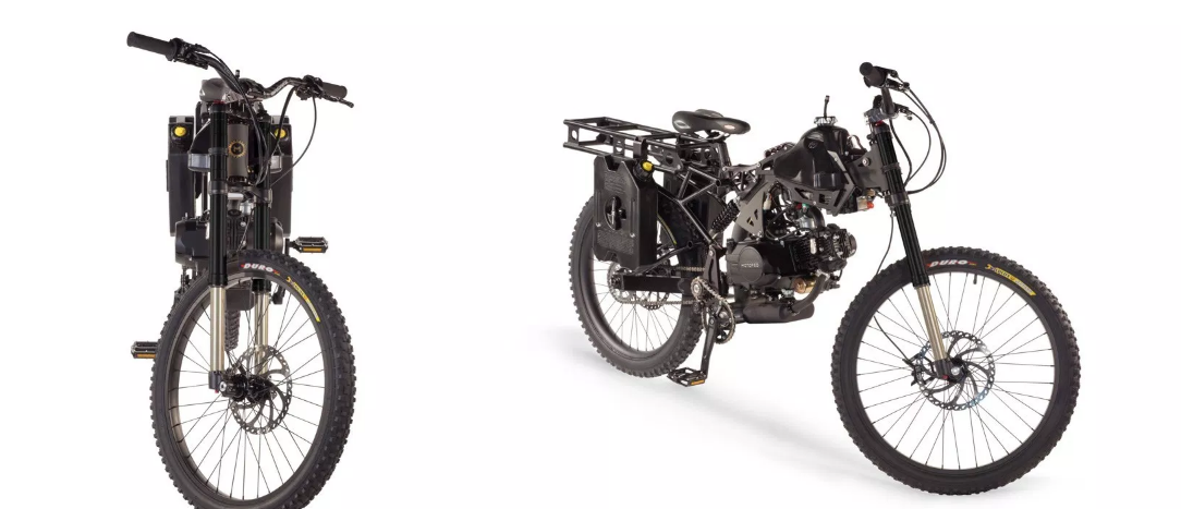 Motoped Survival Sepeda Custom Motor Adventure Petualang
