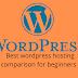 Best wordpress hosting comparison for beginners to start hosting website.