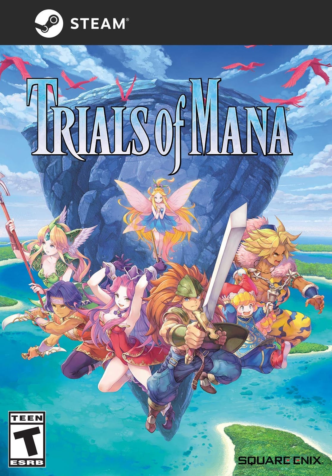 Descargar Trials Of Mana PC Cover Caratula