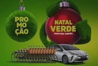 Promoção Shopping Taboão Natal Verde 2019 - 10 Bikes Elétricas e 1 Toyota Prius Híbrido