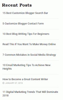 How to Display Images in Default WordPress Recent Post