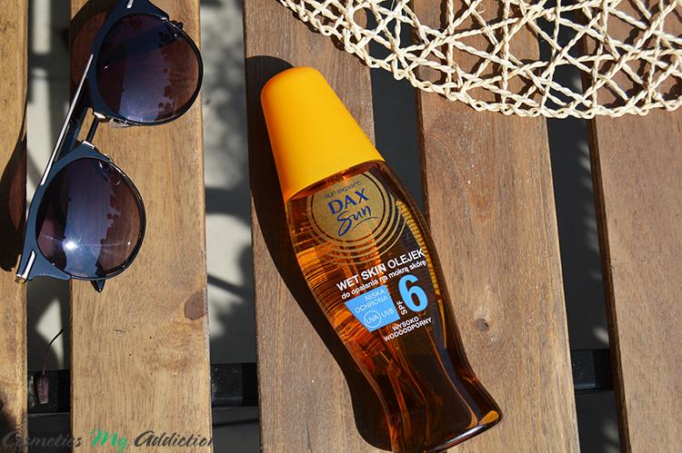 DAX SUN | Wet skin - olejek do opalania na mokrą skórę SPF6