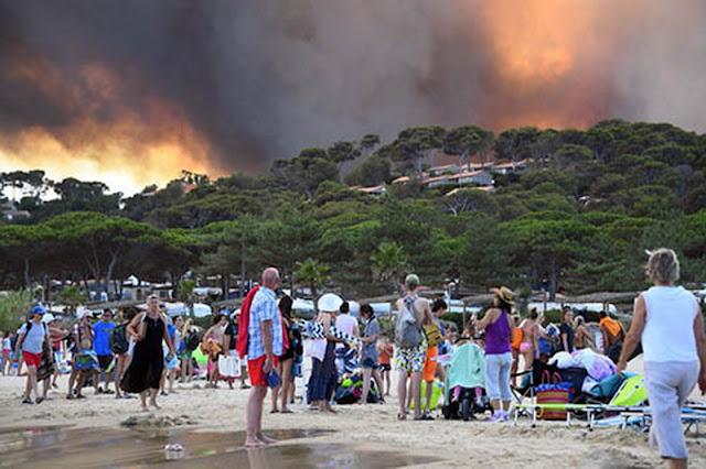 Το θεσμικό και νομοθετικό πλαίσιο οργανωμένης απομάκρυνσης πολιτών λόγω δασικών πυρκαγιών
