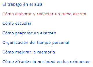 TÉCNICAS DE ESTUDIO  II