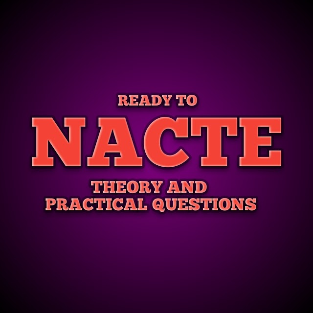 READY TO NACTE: CMT NTA LEVEL 4 THEORY AND PRACTICAL EXAMINATION ARTICLES