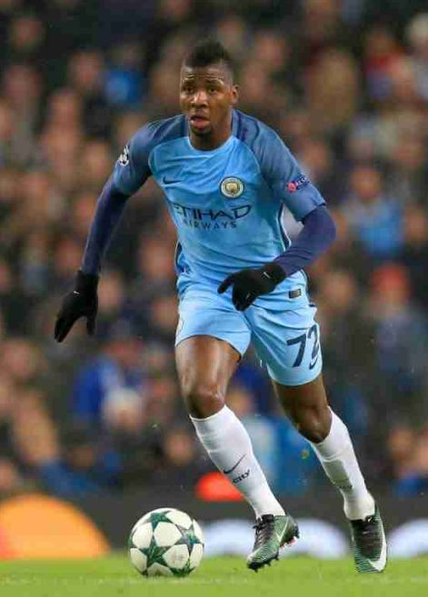 Man City's Kelechi Iheanacho To Join Leicester City For £25M