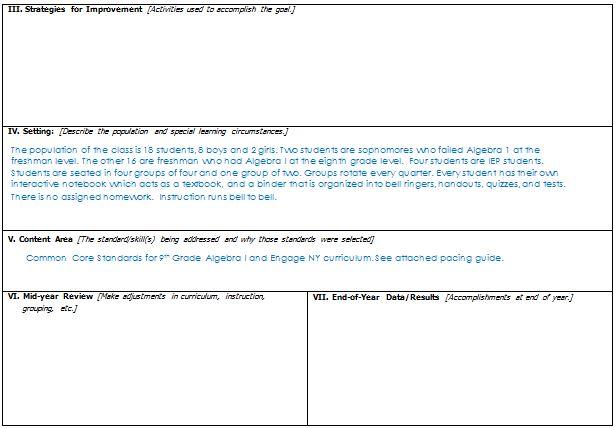 misscalcul8: #MTBoS30: SMART Goals {A Teacher Evaluation Series}