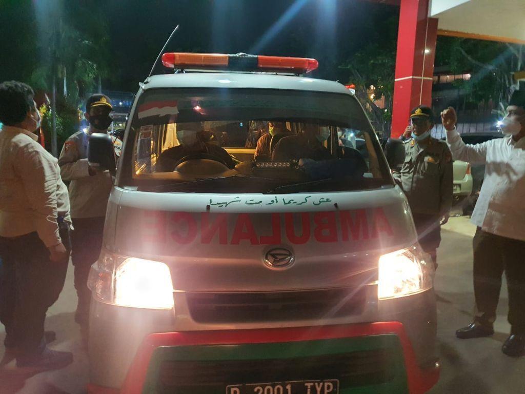 Seluruh Jenazah Laskar FPI Keluar dari Rumah Sakit Polri