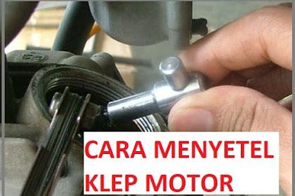 Daftar Ukuran Celah Katup (Klep) Motor Honda dan Cara Menyetel Klep Tersebut