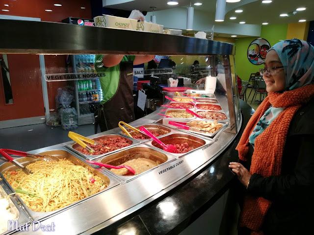 Makan halal food di edinburgh scotland