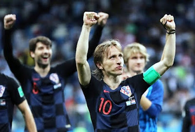 Croatia beat Argentina 3 - 0 unbelievable