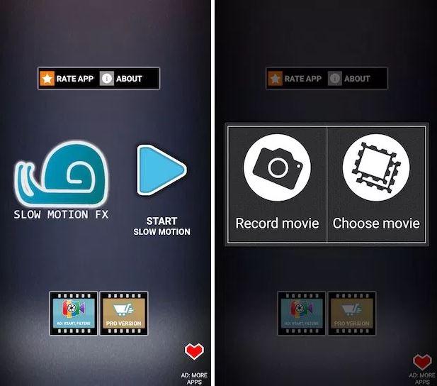 cara rekam video slow motion di Android