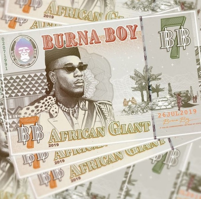 """Burna Boy – African Giant"" Full Album Is Out"
